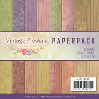 Paperpack Jeanine JAPP10005 Vintage Flowers
