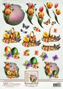 3D Knipvel Ann's Paper Art APA3D022 Lente