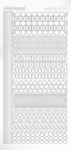Stickervel Hobbydots Adhesive STDA210 White