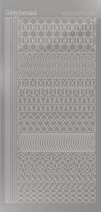Stickervel Hobbydots Mirror STDM218 Silver