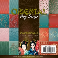 Amy Design Paperpack ADPP10022 Oriental