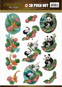3D Stansvel Amy SB10250 Oriental Animals