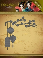 Amy Design Die ADD10142 Oriental Chinese Lantern