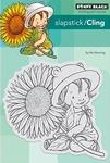 Penny Black Slapstick/Cling Stamp 40-526 Sunflower Baby