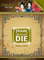 Amy Design Die ADD10146 Oriental Frame Layered Dies