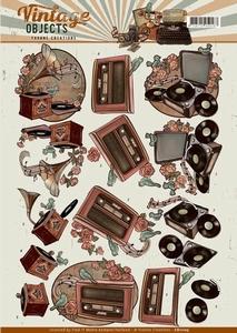 3D Knipvel Yvonne CD11105 Vintage Objects Music