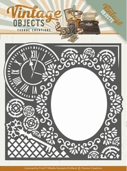 Yvonne Creations Die YCD10132 Vintage Objects Endless Times