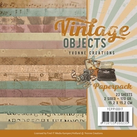 Yvonne Creations Paperpack YCPP10017 Vintage Objects