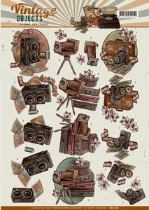 3D Knipvel Yvonne CD11106 Vintage Objects Cameras