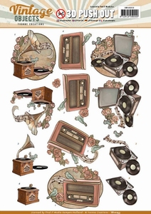 3D Stansvel Yvonne SB10253 Vintage Objects Music