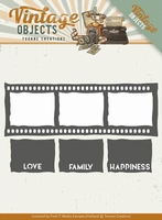 Yvonne Creations Die YCD10133 Vintage Objects Film Strip