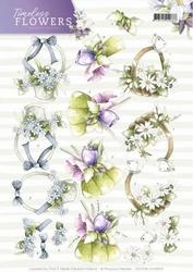3D Knipvel Marieke Timeless Flowers CD11081/HJ15801 Bouquets