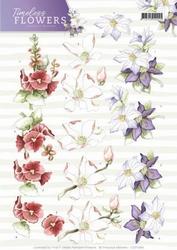 3D Knipvel Marieke Timeless Flowers CD11084 Garden/tuin