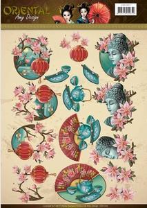 3D Knipvel Amy CD11075 Oriental Culture