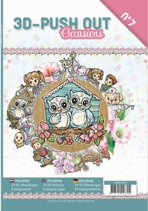 A4 Push Out Book 3D PO10007-NL Occasions