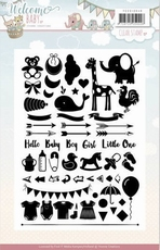 Stempel Yvonne YCCS10040 Welcome Baby