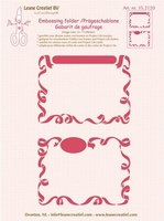 Leane Creatief Embossing folder 352120 2 x Little Frames