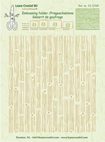 Leane Creatief Embossing folder 353769 Wood/hout
