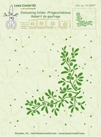 Leane Creatief Embossing folder 350997 Mistletoe/maretak