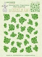 Leane Creatief Embossing folder 350966 Roses