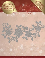 Marieke Merry & Bright Christmas Die PM10129 Poinsettia Bord