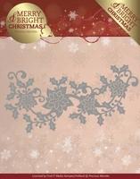 Marieke Merry & Bright Christmas Die PM10129 Poinsettia Bord