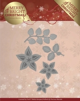 Marieke Merry & Bright Christmas Die PM10132 Christmas Flo