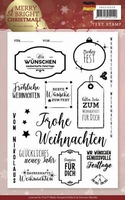 Clearstamp Marieke Merry & Bright Christmas PMCS10036 Duits