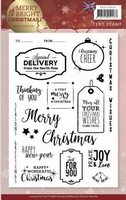 Clearstamp Marieke Merry & Bright Christmas PMCS10035 Eng