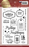 Clearstamp Marieke Merry & Bright Christmas PMCS10034 NL