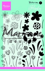 MD Clear Stamp Karin Joan KJ1722 Floralia