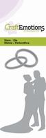 CraftEmotions Die 115633/0154 Huwelijkspaar
