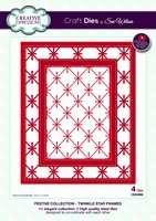 Creative Expressions Festive CED3092 Twinkle Star Frames