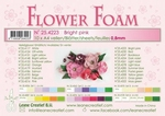 A4 vel LeCrea Flower Foam 25.4230 Red