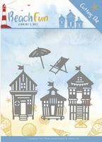 Die Jeanines Art JAD10040 Beach Fun Beach Houses