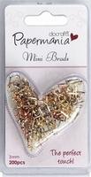 Papermania Mini Brads PMA 3741104 Metallics