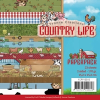 Yvonne Creations Paperpack YCPP10016 Country Life