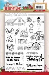 Stempel Yvonne Creations YCCS10039 Country Life
