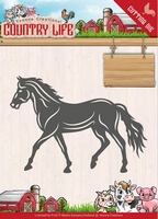 Yvonne's Die YCD10127 Country Life Horse