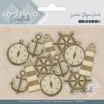 Card Deco Essentials Wooden Shapes CDEWS001 Beach