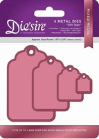 Diesire Mixed Media DS-MM-TAGS Gift Tags