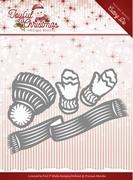 Marieke Joyful Christmas Die PM10109 Wanten/sjaal/handschoen