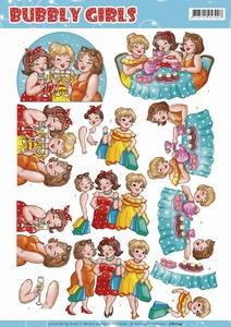 Yvonne Bubbly Girls 3D Knipvel CD11145 Party