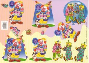 A4 Knipvel TBZ 504904 Clown