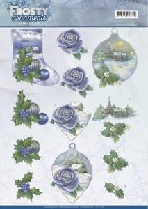 A4 Knipvel Jeanine CD11128 Frosty Ornaments Snowy Landscapes