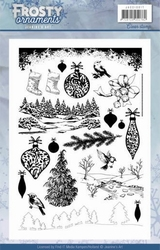 Clearstamp Jeanine JACS10017 Frosty Ornaments