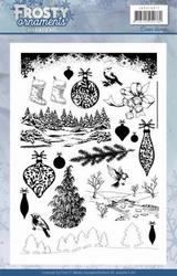 Clearstamp Jeanine JACS10017 Frosty Ornaments