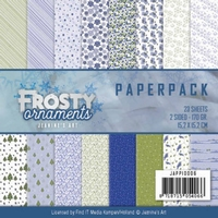 Paperpack Jeanine JAPP10006 Frosty Ornaments
