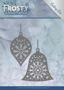 Die Jeanines Art JAD10043 Frosty Ornaments Christmas Baubles