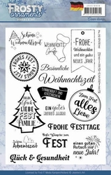 Clearstamp Jeanine JACS10019 Frosty Ornaments D